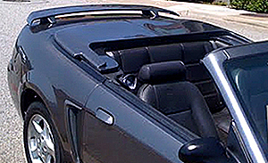 mustang convertible tonneau covers mustang boot covers. Black Bedroom Furniture Sets. Home Design Ideas
